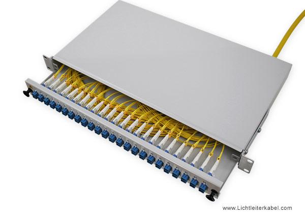 glasfaserkabel 48 fasern lwl kabel vorkonfektioniert u dq. Black Bedroom Furniture Sets. Home Design Ideas