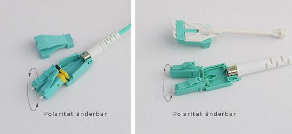 UniBoot Patchkabel - LWL Kabel mit LC duplex Stecker | Online Shop ...