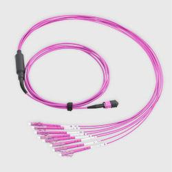 MPO Fanout Kabel 8 Fasern LC OM4